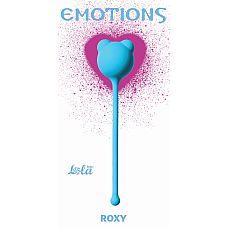 """Вагинальные шарики Emotions Roxy turquoise 4002-03Lola  """"Вагинальные шарики Roxy легко и приятно использовать для интенсивной тренировки влагалища и массажа внутренних областей малого таза."""