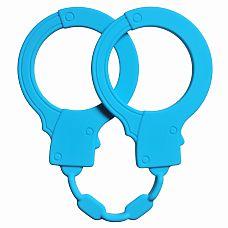 """Силиконовые наручники Stretchy Cuffs Turquoise 4008-03Lola  """"Хотите добавить новизны в отношения, но не готовы к брутальным экспериментам? Тогда наручники Stretchy Cuffs именно то, что Вам нужно! Выполненные из бархатистого, но прочного медицинского силикона, они обеспечат комфорт и безопасность."""