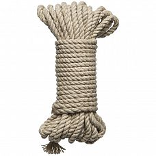 Бондажная пеньковая верёвка Kink Bind   Tie Hemp Bondage Rope 30 Ft - 9,1 м.  Бондажная пеньковая верёвка Kink Bind & Tie Hemp Bondage Rope 30 Ft.