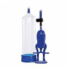 Прозрачно-синяя вакуумная помпа Renegade Bolero Pump  Прозрачно-синяя вакуумная помпа Renegade Bolero Pump.