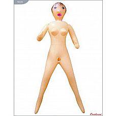 Надувная секс-куколка с 3 любовными отверстиями  Кукла, 3 рабочих отверстия, рост 160 см, EROTICON GIRLFRIEND.
