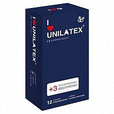 Ультрапрочные презервативы Unilatex Extra Strong - 12 шт. + 3 шт. в подарок  Особо прочные презервативы из натурального латекса телесного цвета, c гладкой поверхностью, покрыты силиконовой смазкой с нейтральным ароматом.