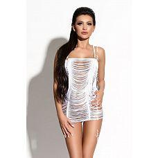 Нитяное коротенькое платье Samantha  Роскошное дерзкое потрясающее платье Samantha из коллекции Queen of Hearts от Me Seduce   само воплощение страсти.
