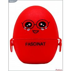 Красный мастурбатор-яйцо FASCINAT PokeMon  Карманный мастурбатор многоразового использования Eroticon PokeMon (PocketMonster) выполнен в виде маленького стильного яйца из нежного медицинского силикона.