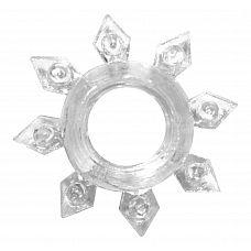 Прозрачное эрекционное кольцо Rings Gear  Эрекционное кольцо из серии Rings- игрушка, предназначенная исключительно для мужчин.