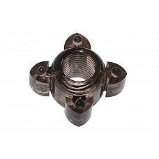 Чёрное эрекционное кольцо Rings Screw  Эрекционное кольцо из серии Rings- игрушка, предназначенная исключительно для мужчин.