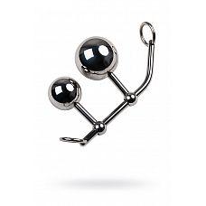 Стринги с двумя шарами для шибари  Хотите совместить ограничение свободы и стимуляцию вагинальной и анальной зон? Эти бондажные стринги подойдут большинству женщин.