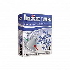 """Презервативы Luxe Tween Лавина страсти Лаванда  """"Универсальный презерватив, обладающий одновременно высокой эластичностью и прочностью, что делает использование максимально безопасным."""