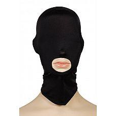 Закрытая маска-шлем на голову  В зоне доступа только рот.