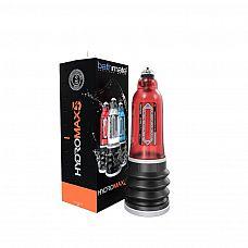 Красная гидропомпа HydroMAX5  Гидропомпа является безопасным средством увеличения полового члена в домашних условиях.