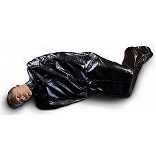 Чёрный мешок без подкладки для фетиш-фантазий  Чёрный мешок без подкладки для фетиш-фантазий.