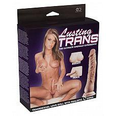 Надувная секс-кукла транссексуал Lusting TRANS  Надувная секс-кукла транссексуал Lusting TRANS.