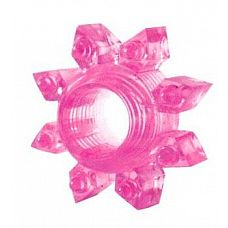 Розовое эрекционное кольцо Cockring star  Стань звездой в постели с эрекционным кольцом Cockring star из серии Erowoman-Eroman.