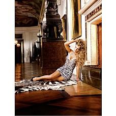 Animal Мини-платье OS (42-46), зебра  Это чудесное маленькое платье с рисунком «под зебру» удовлетворит даже самый взыскательный вкус.