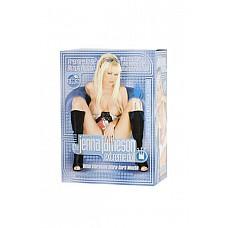 Кукла эротическая JENNA JAMESAON  Красивая куколка-блондинка с длинными волосами и яркими голубыми глазами.