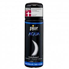 Увлажняющий лубрикант Pjur AQUA,  30 ml  Лубрикант на водной основе. Качество говорит само за себя. Очень бережно относится к слизистым оболочкам на микробиологическом уровне. Лубрикант увлажняет кожу, не делая ее липкой. Не содержит нефтепродуктов, масел, и парфюмерных добавок, что делает его особо нежной для вашей кожи и слизистых оболочек. Сверхмягкая формула с продолжительным скольжением питает и защищает сухую и поврежденную кожу. Будь то ежедневные ласки или регулярный уход за телом: pjur® AQUA всегда оставляет приятные ощущения.