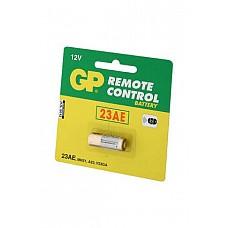 Батарейка 23А  в блистере по 1 шт.  Щелочные батарейки специальных типоразмеров GP 23A BP подходит для пультов вибромассажеров на радиоуправлении.