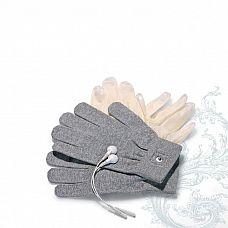 Аксессуар - перчатки для электростимуляции Mystim Magic Gloves  Электропроводящие перчатки для электростимуляции - они идеальны для чувственного массажа.