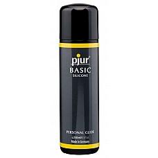 Силиконовый лубрикант Pjur BASIC Silicone, 250 ml  Этот лубрикант дарит ощущение комфорта даже во время продолжительной сексуальной близости. Вот почему всё больше людей, ранее пользующихся смазками на водной основе, отдают предпочтение Pjur® BASIC Silicone. <br><br> Входящий в состав силикон высочайшего качества – это и есть причина длительного эффекта скольжения. Смазка без вкуса и запаха равномерно распределяется по коже и позволяет вам в полной мере наслаждаться эротическим массажем или интимной близостью. <br><br> Безопасна для секс-игрушек из любых материалов и презервативов.