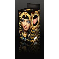 """Вагина-реалистик """" Клеопатра""""  Нет необходимости переноситься в древний Египет, готовиться к жестокой схватке, чтобы победить Антония и заполучить Клеопатру. Несравненная богиня уже в ваших руках и готова доставить вам несравненное наслаждение. Задумывались ли вы о том, насколько хороши красавицы древних времен? Хотели ли испытать то, что испытывали могучие воины? Зачем гадать или мечтать – у вас уникальная возможность все проверить и почувствовать на себе. Размер изделия: 15см x 8см х 7см"""