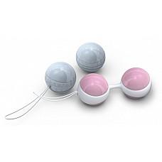 Вагинальные шарики Luna Beads Mini  LELO представляет вагинальные шарики Luna Beads Mini! Самая популярная в мире система упражнений Кегеля. В мире не существует двух одинаковых женщин. Именно поэтому дизайнеры LELO разработали два варианта Luna Beads – идеальное решение для любой женщины! <br><br> Шарики Luna Beads Mini являются уменьшенной версией классических Luna Beads. Они были разработаны специально для женщин младше 30 лет, которые еще не успели познать радость материнства. Их небольшой Размер позволяет молодым женщинам эффективно тренировать мышцы таза и испытать все преимущества этих упражнений. <br> <br>Размер шариков Luna Beads Mini – 29 мм. <br>Размеры оправы: 73х31х15 мм. <br>Вес шариков: 2х28 грамм (розовые); 2х37 грамм (голубые).