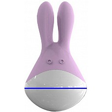 Массажер Totoro розовый 9 см  Этот забавный розовый зверёк, имя которому Totoro, станет вашим любимым питомцем. <br><br>  Кормить просто – достаточно зарядить при помощи зарядного устройства. Особого ухода не требует – нужно лишь содержать в чистоте. А вот удовольствие доставляет огромное! Не то что какие-нибудь собаки с кошечками. <br><br> Стоит прикоснуться вибрирующими ушками к клитору (3 уровня интенсивности вибрации, 7 функций пульсации), чтобы каждая клеточка тела начала трепетать от блаженства!