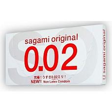 Презервативы полиуретановые Sagami №12 Original 0,02  Полиуретановые ультратонкие презервативы (0,02 мм).