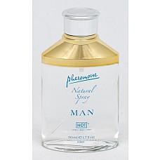 Спрей для мужчин с феромонами Сумерки 50мл 55002  Для тех, кто не хочет изменять любимому аромату, компания «Hot» предлагает спрей с нейтральным запахом.