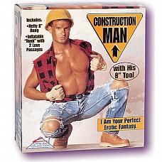 Кукла-мужчина CONSTRUCTION MAN 1959-01 BX SE  Надувная кукла-мужчина для секса из ПВХ.