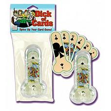 Карты игральные в форме пениса 2472-00 CD SE  Традиционная колода карт в форме пениса.