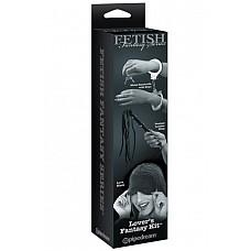 Набор Lover Fetish Fantasy Limited Edition  Набор для любовных игр:  <br>- металлические наручники с ключами; <br>- кожаная плетка  <br>- маска из нейлона на глаза.
