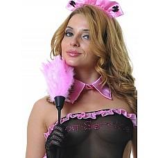 Щеточка горничной розовая  Щеточка горничной розовая