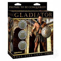 Кукла с вибрацией Gladiator