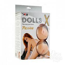 Рыжеволосая секс-кукла с реалистичными вставками