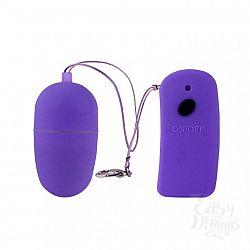 Фиолетовое виброяйцо с дистанционным управлением