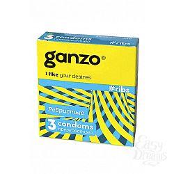 ФармЛайн Презервативы Ganzo Ribs № 3