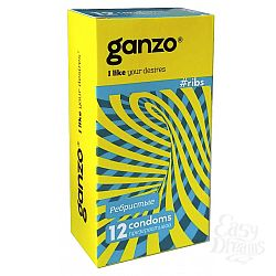 Ganzo Презервативы GANZO ribs No12