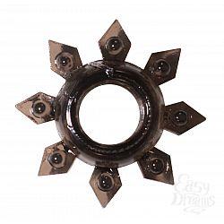 Чёрное эрекционное кольцо Rings Gear