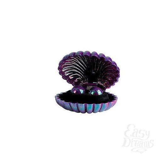 Фотография 2  Перламутровые фиолетовые вагинальные шарики Opulent Lacquer Cote Pearls