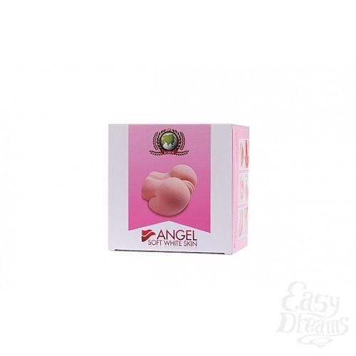 Фотография 1:  Мастурбатор в виде попки и вагины ANGEL 2 без вибрации