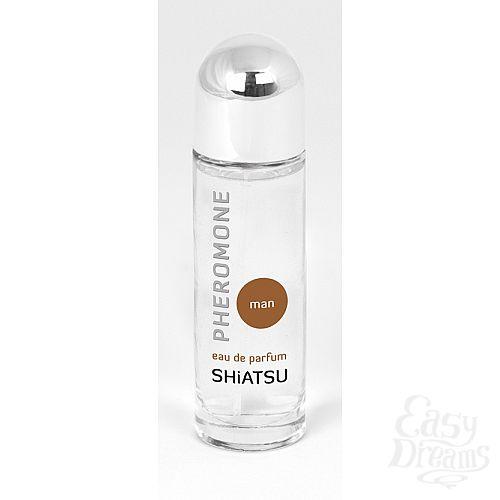 Фотография 1: SHIATSU Духи для мужчин с феромонами Шиатсу  66101