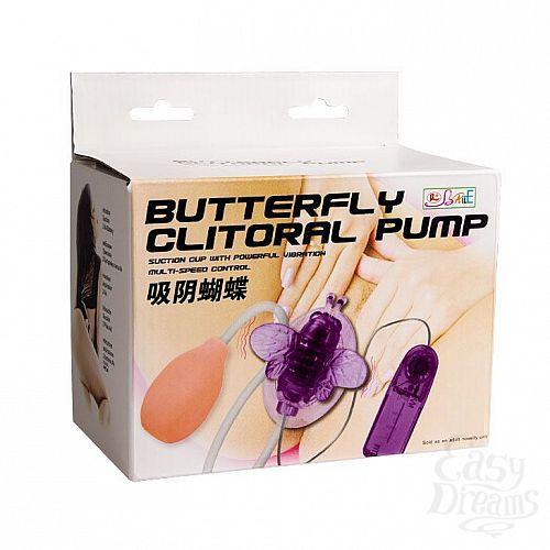 Фотография 9  Стимулятор клитора с вакуумным массажем и вибрирующей бабочкой