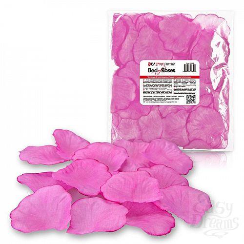 Фотография 1:  Розовые лепестки роз Bed of Roses