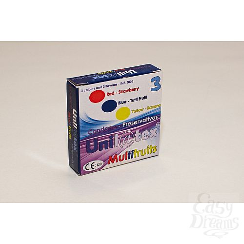 Фотография 2 Unilatex Презервативы Unilatex Multifruits 3 шт 3003Un
