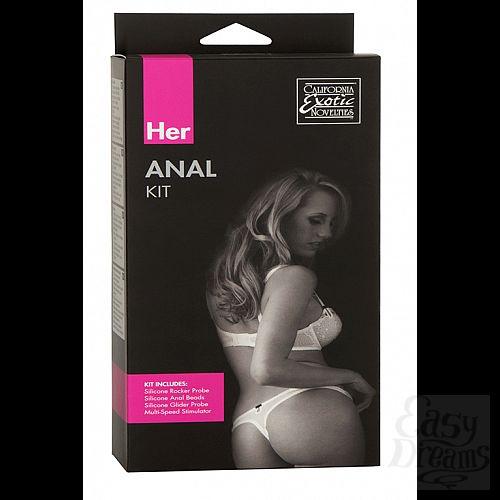 Фотография 1: California Exotic Novelties Анальный набор Her Anal Kit