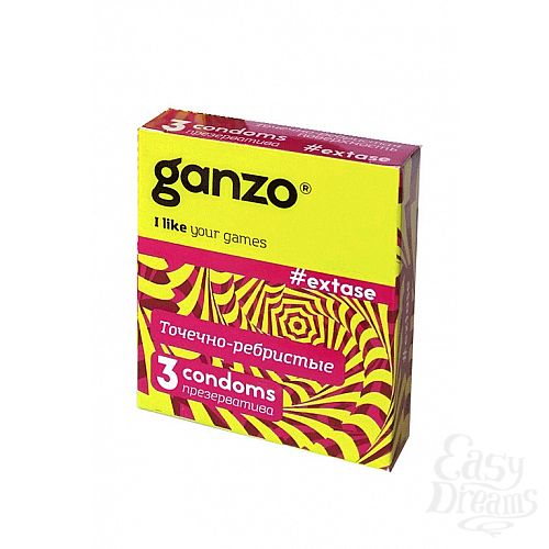 Фотография 1: ФармЛайн Презервативы Ganzo Extase № 3