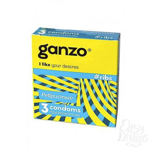 Фотография 1: ФармЛайн Презервативы Ganzo Ribs № 3