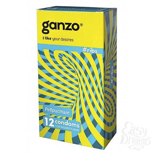 Фотография 1: ФармЛайн Презервативы Ganzo Ribs № 12