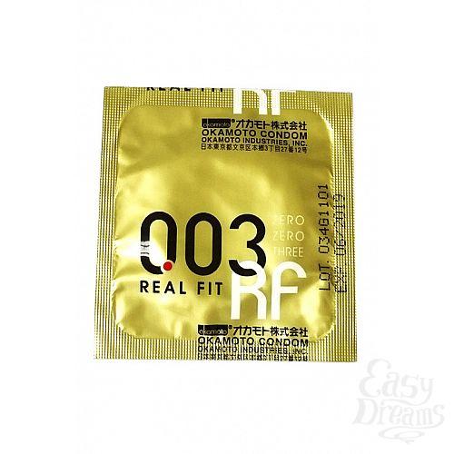 Фотография 2 ФармЛайн Презервативы Okamoto 003 Real Fit № 3