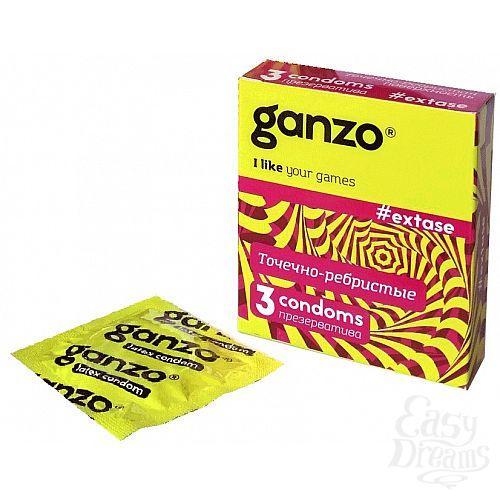 Фотография 1: Ganzo Презервативы GANZO Extase No3